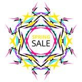 Vibrant Spring Sale Banner Stock Photo