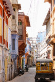 Vibrant street in India Stock Images