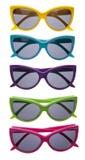 Vibrant Summer Sunglasses Stock Photo