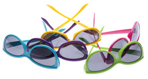Vibrant Summer Sunglasses Royalty Free Stock Images