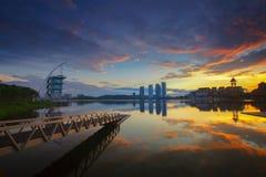 Pullman Putrajaya at Sunrise Royalty Free Stock Images
