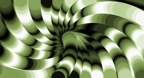 Vibrant Swirl Background. Design of vibrant swirls background in green and black light vector illustration