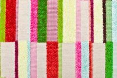 Vibrant textile Stock Image