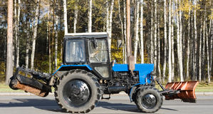 Free Vibrant Urban Shobel And Cleaning Tractor Royalty Free Stock Photos - 3682248