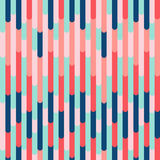 Vibrant vector seamless pattern, trendy color combination Stock Photo