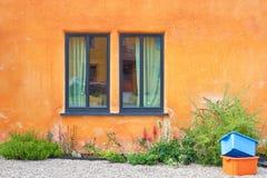 Vibrant wall Royalty Free Stock Image