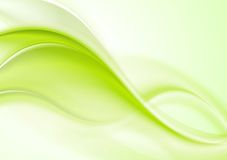 Vibrant wavy vector design Royalty Free Stock Photos