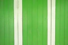 Vibrant wooden door Stock Photo
