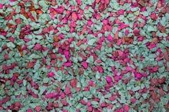 Vibrantly τα ζωηρόχρωμα χαλίκια που διαδίδονται είναι όμορφο υπόβαθρο Στοκ φωτογραφία με δικαίωμα ελεύθερης χρήσης