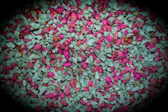 Vibrantly colorful pebbles spread is beautiful background. Vibrantly colorful little pebbles spread is beautiful background Stock Photos