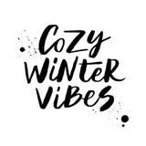 Vibraphone confortable d'hiver illustration de vecteur