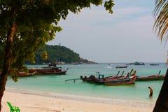 Vibraphone d'île sur la plage en Thaïlande Photos stock
