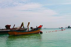 Vibraphone d'île sur la plage en Thaïlande Photographie stock