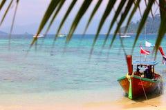 Vibraphone d'île sur la plage en Thaïlande Photo stock