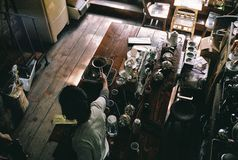 Vibraphone de café Photographie stock