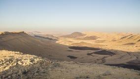 Vibraphone de désert pendant l'hiver israélien photos libres de droits