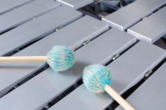 Vibraphone full frame Royalty Free Stock Images