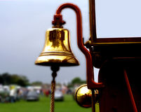 Vibrating Bell. Shivering Fire Bell Royalty Free Stock Photography