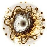 Vibration. Mathematically-based, fractal image Stock Photos