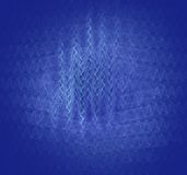 Vibrations - Interference Pattern Royalty Free Stock Images