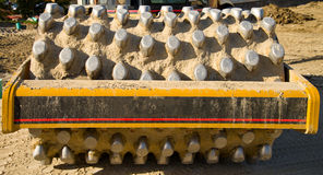Vibratory soil compactor Royalty Free Stock Photo