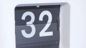 Vibrazione-orologio Fine in su stock footage
