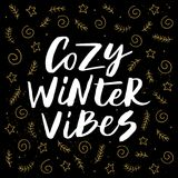 Vibrazioni accoglienti di inverno Immagine Stock