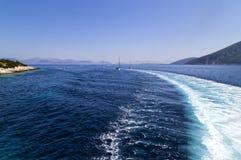 Vibrazioni del blu di estate Fotografie Stock