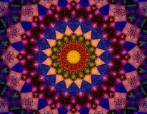 Vibrazioni della mandala di Sun buone Immagine Stock