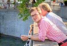 Vibrazioni di estate a Zurigo Immagini Stock