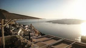 Vibrazioni di Santorini Fotografia Stock Libera da Diritti