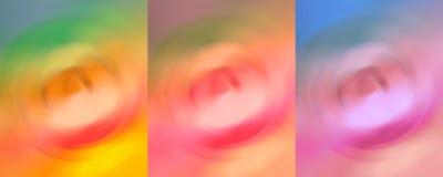 Vibrerande abstrakt begrepp för väggdekoren Art Painting Arkivfoton