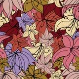 Vibrerande blommastansmaskin royaltyfri illustrationer