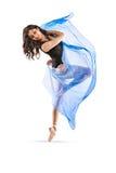 Vibrerande dansare #7 Fotografering för Bildbyråer