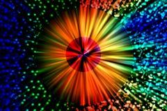 Vibrerande färgrik bakgrund Royaltyfri Fotografi
