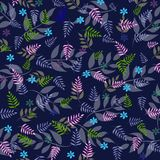 vibrerande leaf för bakgrundsblackdesign Arkivbilder