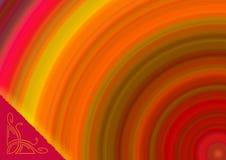 vibrerande ljus copyspace Royaltyfri Foto
