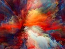 Vibrerande målarfärg Arkivfoton
