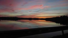 vibrerande sky Royaltyfria Bilder