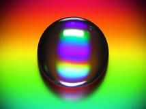 vibrerande vatten för droppe Fotografering för Bildbyråer