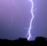 Vibrierende Blitz-Schraube Stockfoto