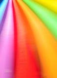 Vibrierende Farben in der Bewegung Stockfotografie