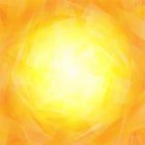 Vibrierender gelb-orangeer Hintergrund vektor abbildung