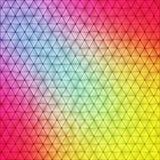 Vibrierender polygonaler Hintergrund stock abbildung