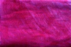 Vibrierendes Rosa gemaltes Papier stockfoto