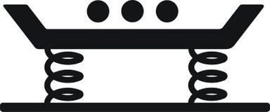 vibroskärm för linjär rörelse royaltyfri illustrationer