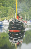 VIC 32 on the Caledonian Canal. Stock Photography