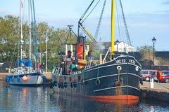 VIC 32 at Muirtown Marina Inverness. Royalty Free Stock Images