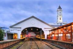 VIC Ballarat Train station rails Stock Photos