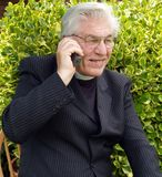Vicar speaking Royalty Free Stock Photos